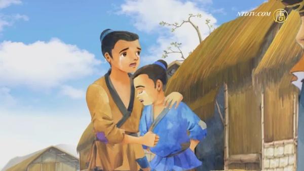 『三字経』第13単元 趙孝争死(趙孝 死を争う)