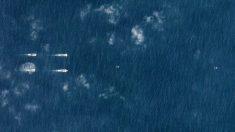 アングル:南シナ海で中国空母群が「異例」の演習、衛星画像で確認