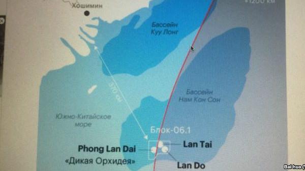 露国営石油、南シナ海で天然ガス採掘 露中関係に暗雲か