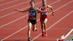 アジア大会=男子マラソンで井上が金メダル、園田は4位