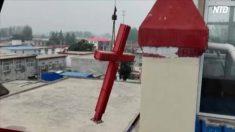 【動画ニュース】中国で激化するキリスト教徒への弾圧 棄教承諾書への署名強要