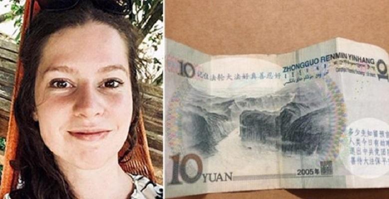 【中国】店員は受取り拒否して真っ青に 紙幣にはある刻印が‥‥