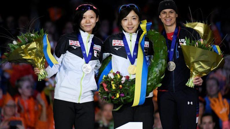 スピードスケート=世界スプリント、小平が総合優勝