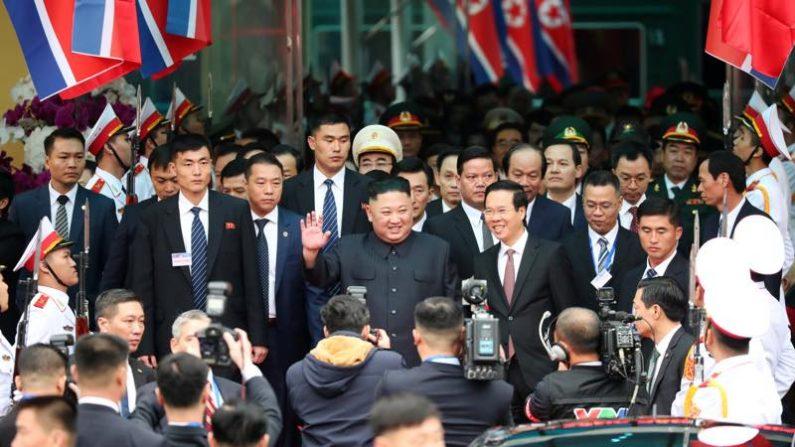 米朝首脳会談、北朝鮮の金委員長が中国からベトナム入り