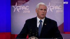 【動画ニュース】ペンス副大統領 社会主義への警戒を呼びかける=米保守派最大政治イベントCPAC