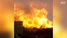 【動画ニュース】蘇省化学工場の大規模爆発 当局の野放しが原因?