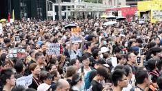 【動画ニュース】香港で再び大規模デモ「中国本土にも真相を届ける」