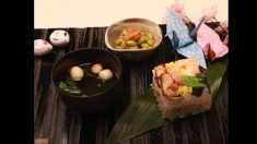 【レシピ動画】 夏休みの思い出に♫ 可愛い箱寿司作りませんか?