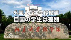 【動画ニュース】外国人留学生優遇に憤る中国人「中国語ができないのに奨学金まで…」