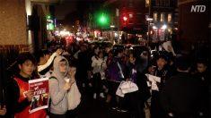 【動画ニュース】ニューヨーク大学香港人権フォーラムで中国人留学生が騒動