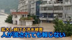 中国の洪水被害が拡大 26省市で1700万人が被災【禁聞】
