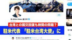 台湾駐米代表がTwitterの肩書きを「大使」に変更