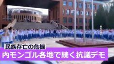 モンゴル語抹殺の危機 内モンゴル各地で続く抗議デモ