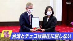 チェコ議長と蔡英文総統会談「台湾とチェコは抑圧に屈しない」