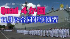 QUAD4か国が合同軍事演習 豪州は13年ぶりに「マラバール演習」参加