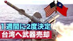 米国が一週間の間に台湾への2度の武器売却を決定【禁聞】