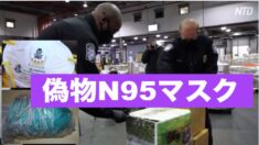 NY市のJFK空港で14万枚の「N95」偽造マスクを押収
