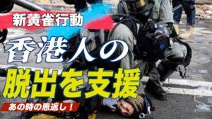 中共から逃れる香港人を支援する「新黄雀行動」 在米活動家らが発起