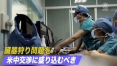 米政府関係者「中共の臓器狩り問題を米中交渉に盛り込むべき」