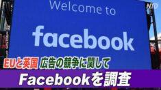 EUと英国 広告の競争に関してFacebookを調査