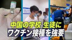 中国の学校 生徒にワクチン接種を強要