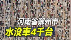 鄭州の水没車4000台 「まるで墓場」